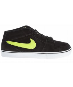Nike Ruckus Skate Shoes Black/Neutral Grey/Atomic Green