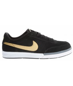 Nike Zoom Fc X Fp Shoes Black/White/Metallic Gold