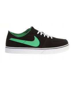 Nike Zoom Mavrk LR Skate Shoes Black/White/Gum Med Brown/Hyper Verde