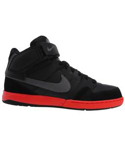 Nike Zoom Mogan Mid 2 Skate Shoes Black/Challenge Red/Metallic Dark Grey