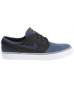 Nike Zoom Stefan Janoski Skate Shoes Black/Deep Ocean