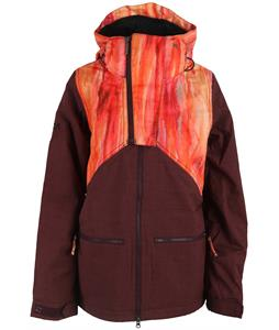 Nikita Hel Watercolor Print Snowboard Jacket