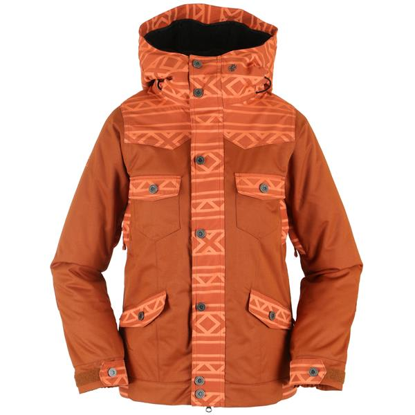 Nikita Mayon Jacquard/Canvas Snowboard Jacket
