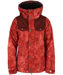 Nikita Mayon Washed Look Print Snowboard Jacket