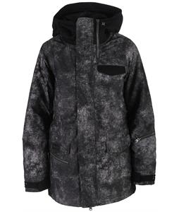 Nikita Sif Washed Look Print Snowboard Jacket