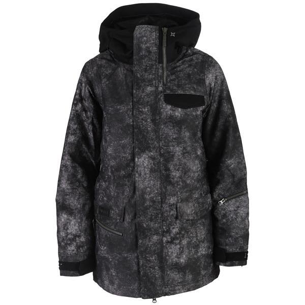 Nikita Sif Washed Look Print Snowboard Jacket