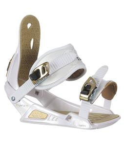 Nitro Raiden Lynx Snowboard Bindings White/Gold