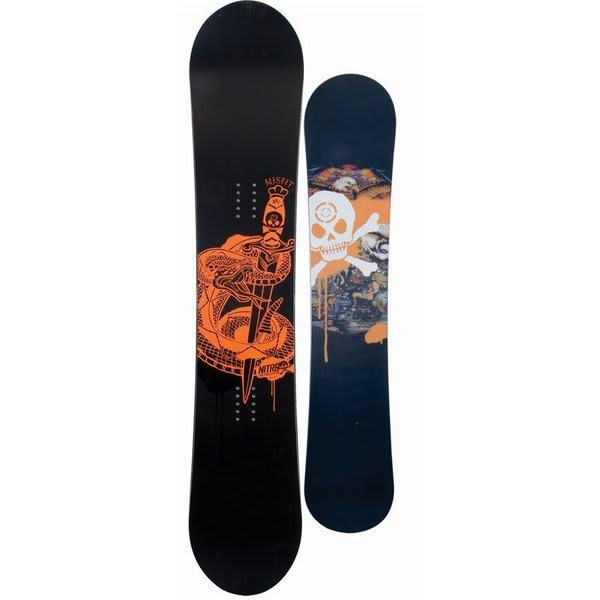 Nitro Misfit Black Snowboard