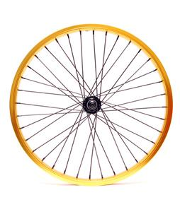 Eastern Double Shot Front 3/8 36H BMX Wheel Gold 3/8
