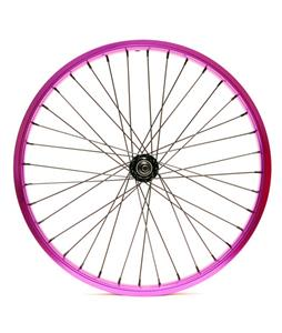Eastern Double Shot Front 3/8 36H BMX Wheel Purple 3/8