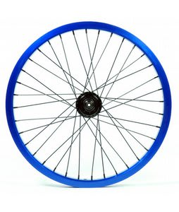 Eastern Double Shot Rear 14mm 36H 9T BMX Wheel Blue 14mm