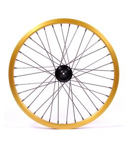 Eastern Double Shot Rear 14mm 36H 9T BMX Wheel Gold 14mm