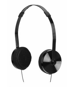 Nixon Apollo 3-Button Mic Headphones All Black