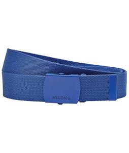 Nixon Basis Belt Cobalt
