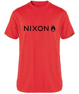 Nixon Basis T-Shirt Red/Black