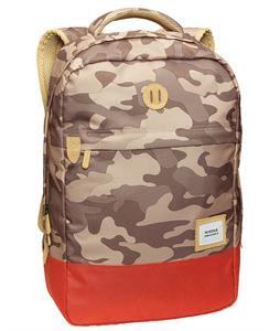 Nixon Beacons Backpack Khaki Camo/Red Pepper 18L