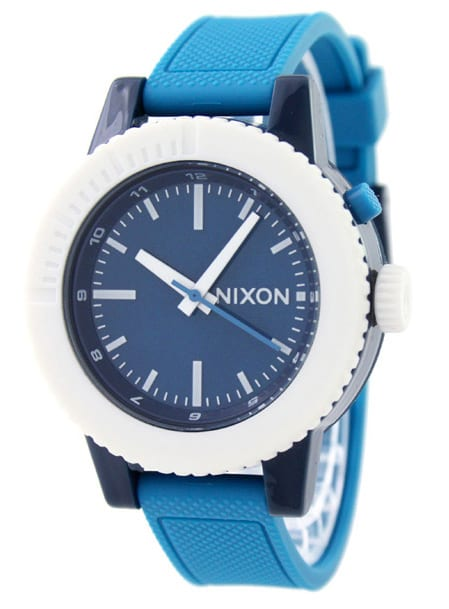 Nixon GoGo Watch Green/Blue/Navy - Women's
