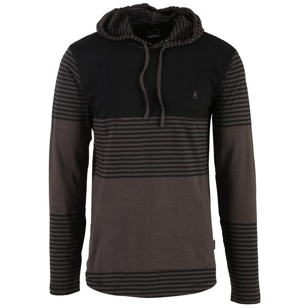Nixon Heath L/S Knit Hooded Pullover Shirt
