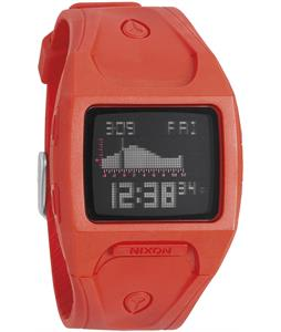 Nixon Lodown Watch Neon Orange