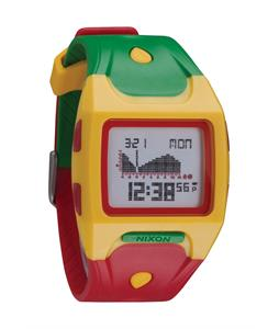 Nixon Lodown Watch Rasta