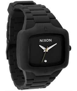 Nixon Rubber Player Watch Black