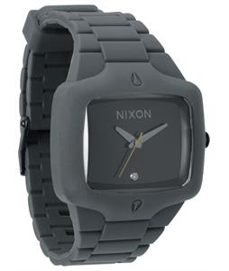 Nixon Rubber Player Watch Gray/Black
