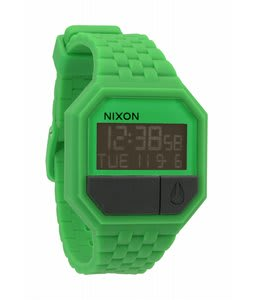 Nixon Rubber Re-Run Watch Green