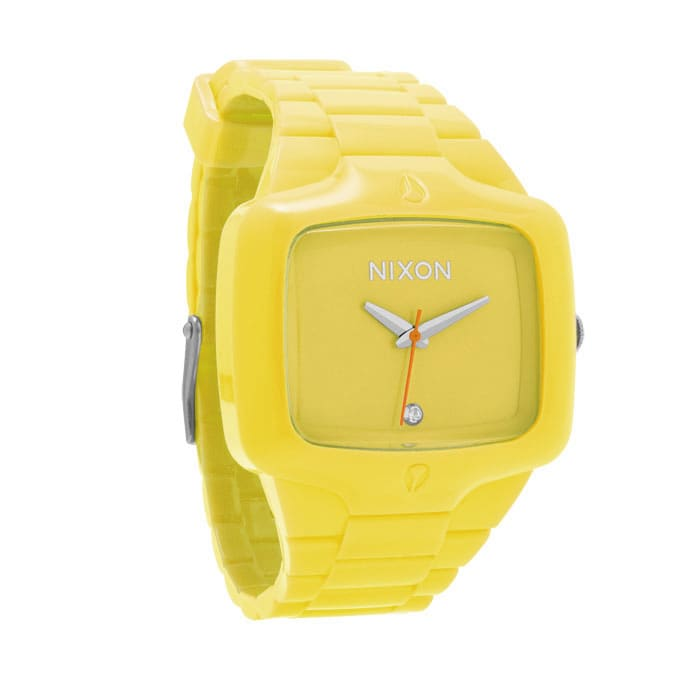 Shop for Nixon Rubber Player Watch Flouro 4 - Men's