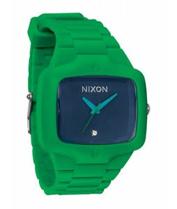 Nixon Rubber Player Watch Green/Navy