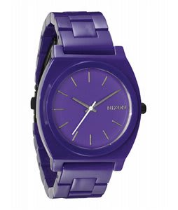 Nixon Time Teller Acetate Watch Purple