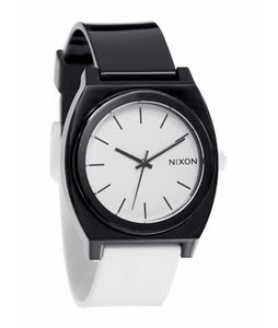 Nixon Time Teller P Watch Black/White