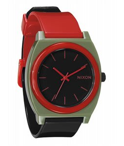 Nixon Time Teller P Watch Surplus/Black/Red