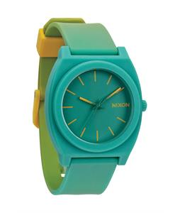 Nixon Time Teller P Watch Yellow/Teal Fade