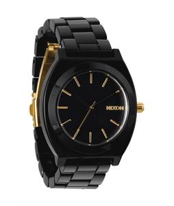 Nixon Time Teller Acetate Watch All Black/Gold