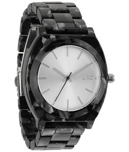 Nixon Time Teller Acetate Watch Gray Granite