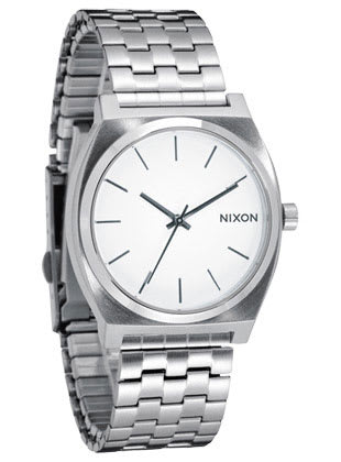 Nixon Time Teller Watch White