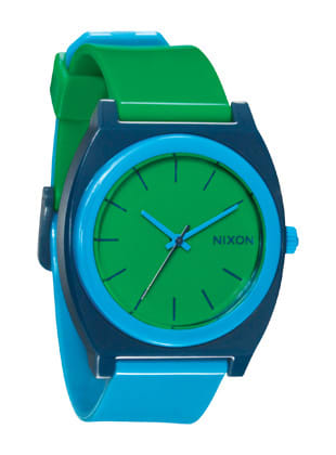 Nixon Time Teller P Watch Green/Blue/Navy - Men's