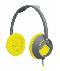 Nixon Trooper Headphones Gray/Yellow
