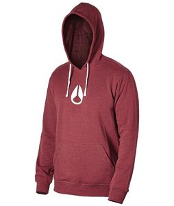 Nixon Wings Hoodie Burgundy Heather