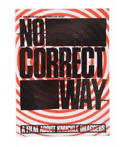 No Correct Way Snowboard DVD