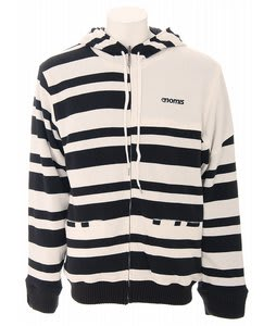 Nomis Simon Referee Reversible Zip Hoodie Black/White