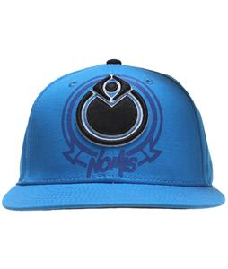 Nomis Badge Snapback Cap Cobalt
