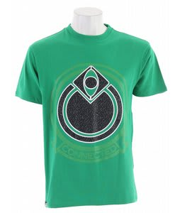 Nomis Badge T-Shirt Emerald Green