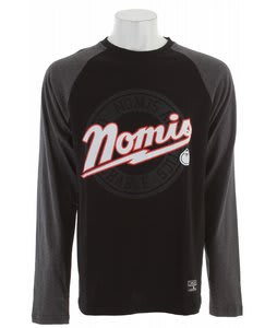 Nomis Baseball L/S T-Shirt Black