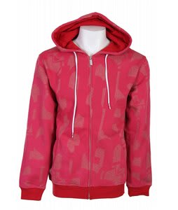 Nomis Big Up Hoodie Red