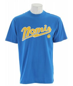 Nomis Bolts T-Shirt New Blue