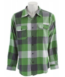 Nomis Box Plaid L/S Shirt Bright Green