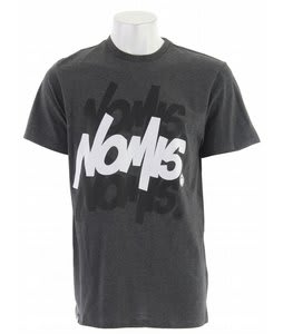 Nomis Essential Handstyle T-Shirt Heather Charcoal