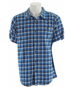 Nomis Fade Plaid Shirt New Blue Fade Plaid