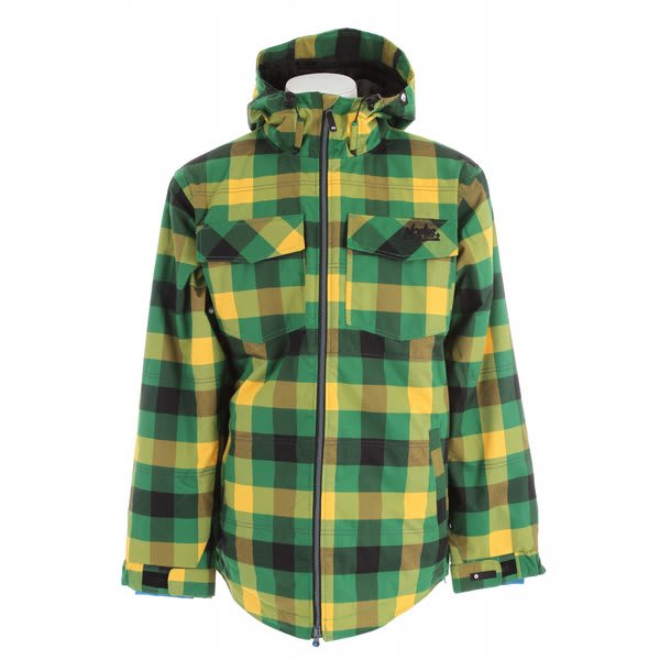 Nomis Flannel Insulated Snowboard Jacket